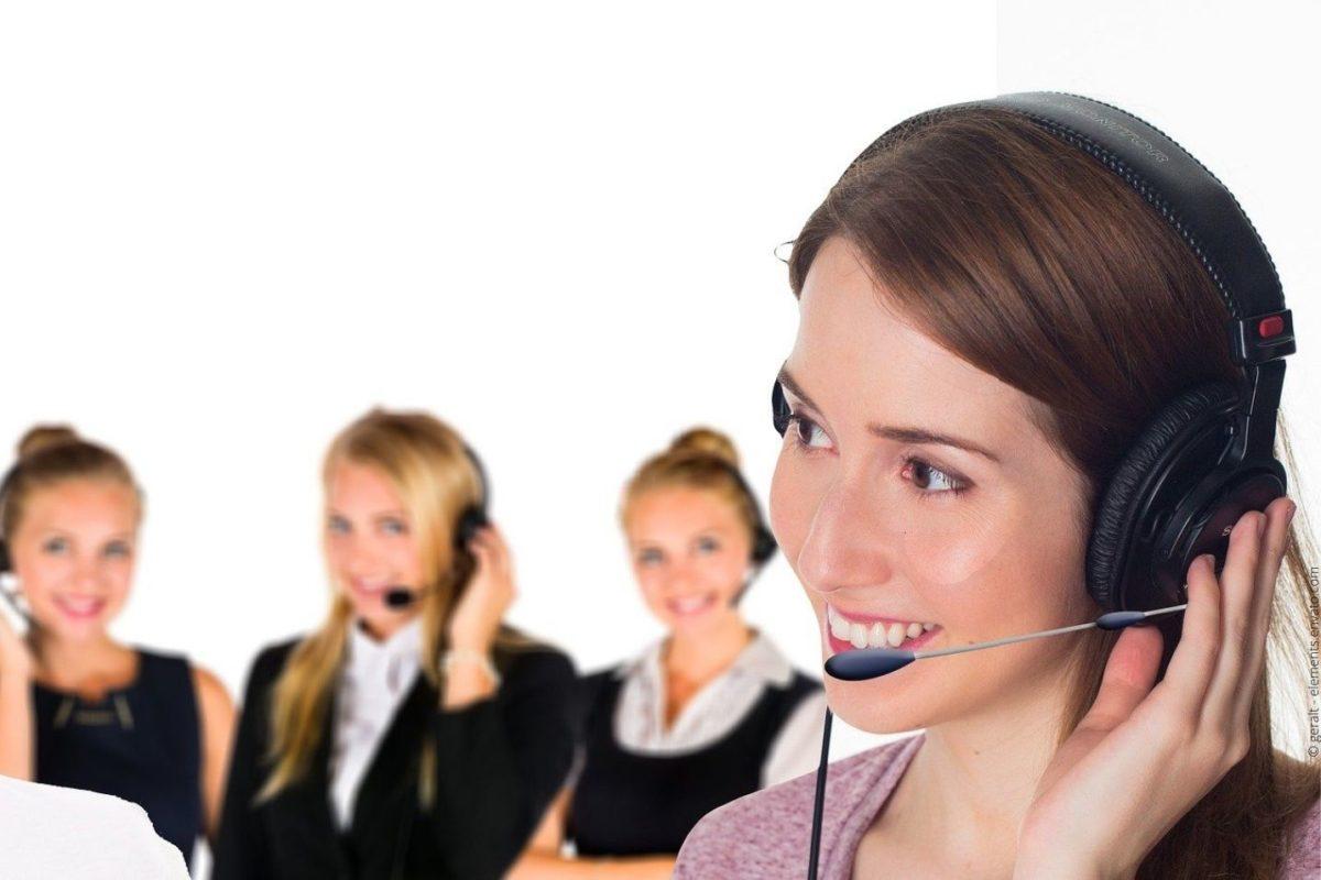 Wie Arbeitsplätze für die Anrufannahme in Unternehmen gestaltet sein sollten